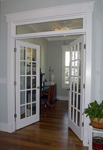 This opening is identicle between living room and dining room should def move forward with - Interior french doors for office ...