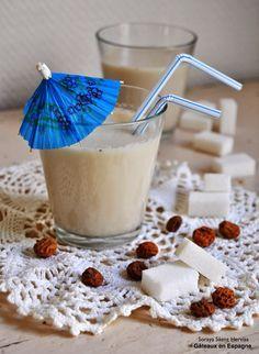 Horchata:  Recette de lait de souchet fait maison