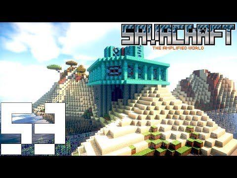Savacraft 53 塔をちょっとだけ伸ばす マインクラフト Youtube
