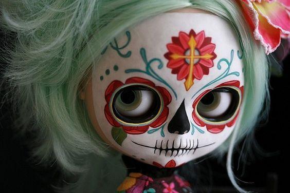 Day of the Dead (Dia de los Muertos) Blythe Muertos