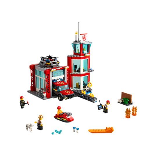 Sky Police Air Base 60210 City Buy Online At The Official Lego Shop Us Lego City Fire Station Lego City Fire Lego City