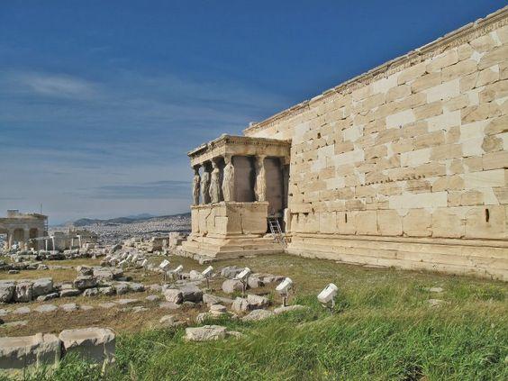 The Erechtheion, Acropolis, Athens