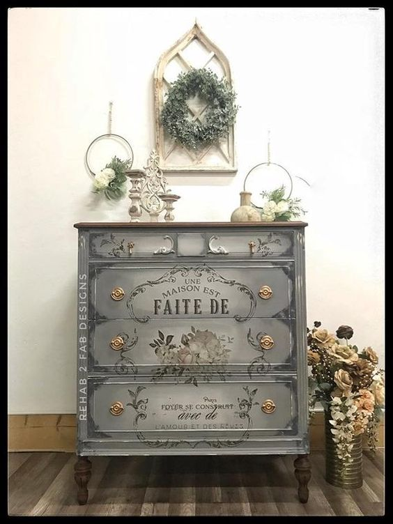 Furniture Painting Video Tutorial | Etsy