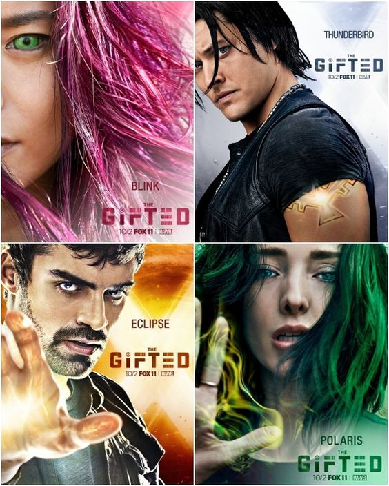 New Character Posters From 'The Gifted' #Marvel