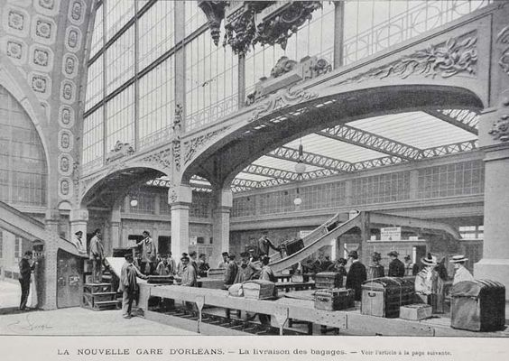 La Gare d'Orléans / Gare d'Orsay 1900 /