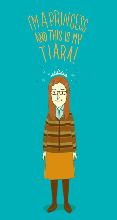 Amy Farrah Fowler and her Tiara... love that episode