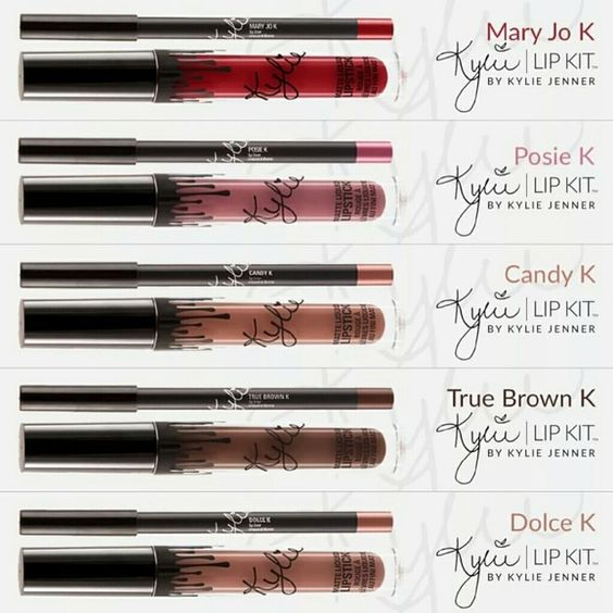Kylie jenner lip kit All colors are available New in box Makeup Lipstick: