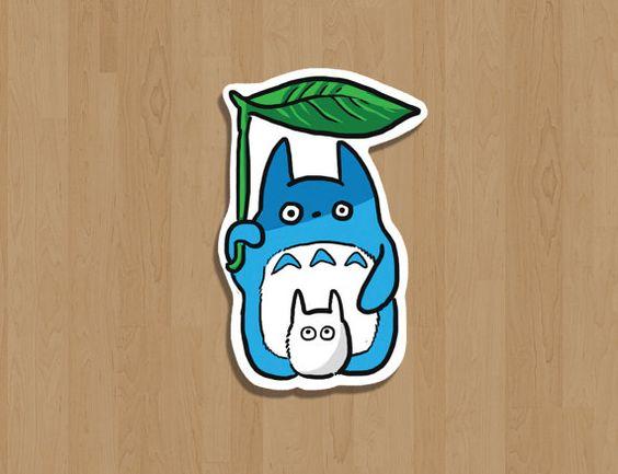 My neighbor totoro sticker by fandomfox