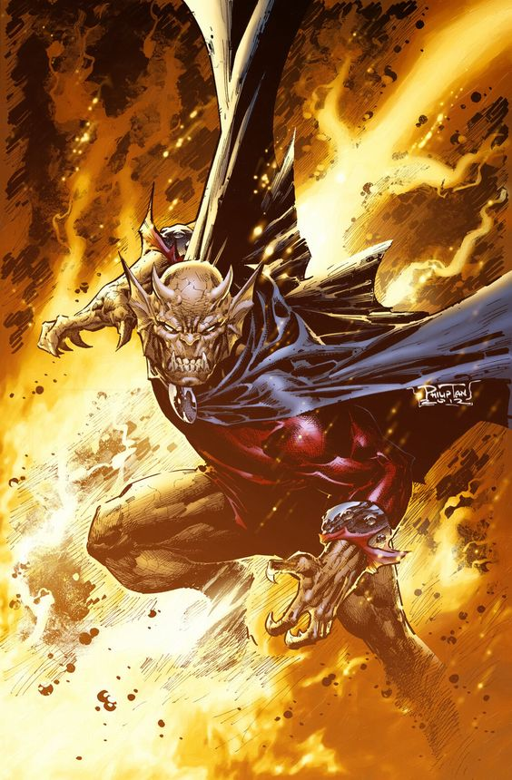 Etrigan the Demon by Philip Tan