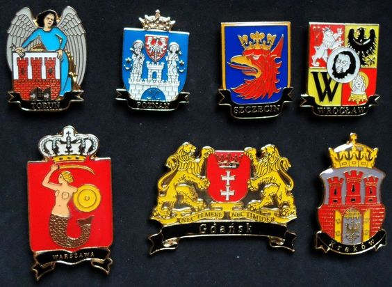 set of 7 fridge magnets #travel souvenirs from poland from $14.99