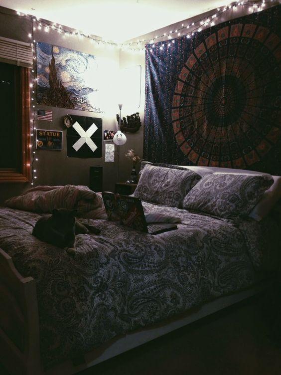Cuartos tumblr buscar con google muebles pinterest for Cuarto estilo tumblr
