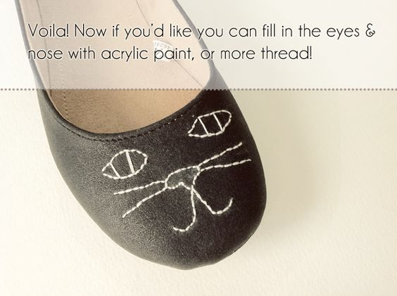 diy cat shoes