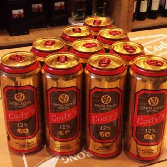 Bia Cody's 12% - Lon 500ml - Bia Nhập Khẩu
