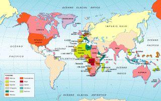 Desde la segunda mitad del siglo XIX hasta inicios de 1939: Los imperios coloniales