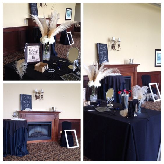 Photo booth Great Gatsby Prom