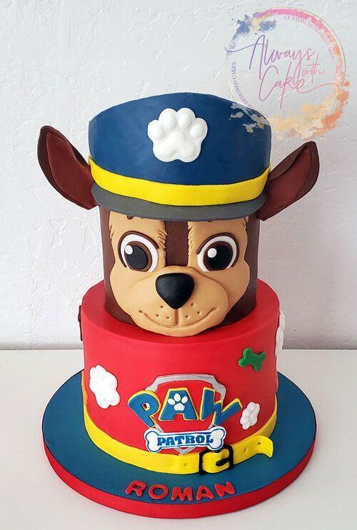 Pin Auf Paw Patrol Kuchen