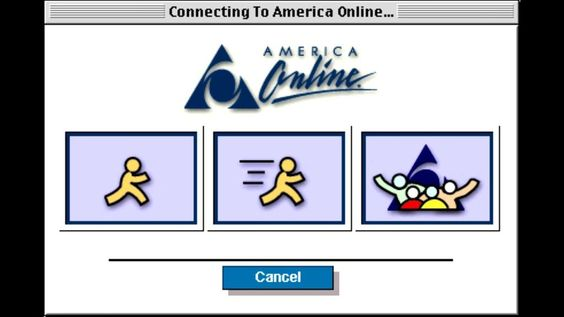 Dial-up Internet was definitely a struggle – yet the dial-up noise is a fond tech memory.