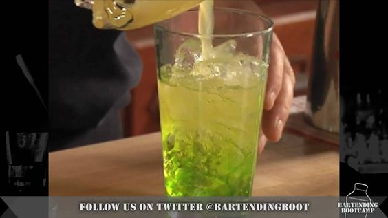 Scooby Snack Cocktail - Drink recipes from BartendingBootcamp.com