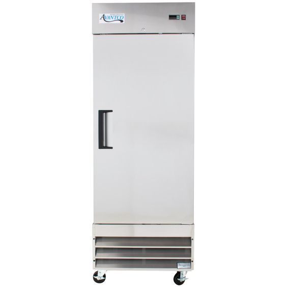 "Avantco A-19F 29"" One Section Solid Door Reach-In Freezer - 19 cu. ft."