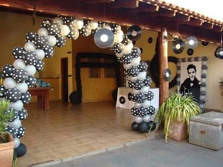 decoração de festa estilo anos 60 - Pesquisa Google