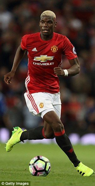 Pogba was the big money mover to United...