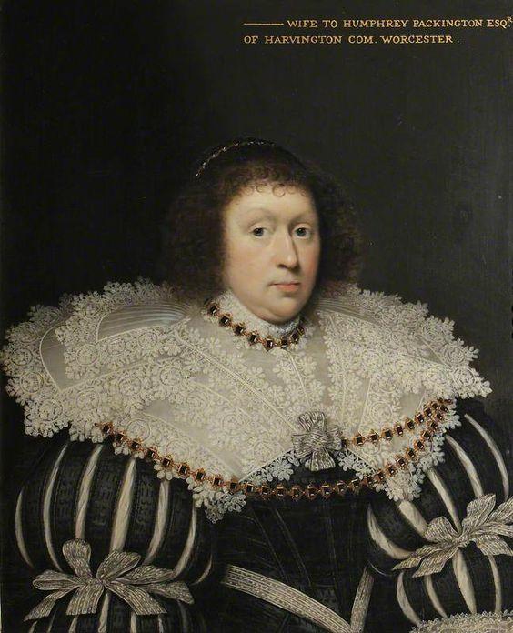 Abigail Sacheverell, Mrs Humphrey Pakington by Cornelis Janssens van Ceulen National Trust      Date painted: 1630: