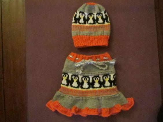 Penguin Hat and Skirt http://www.pinterest.com/source/static.knittingparadise.com/