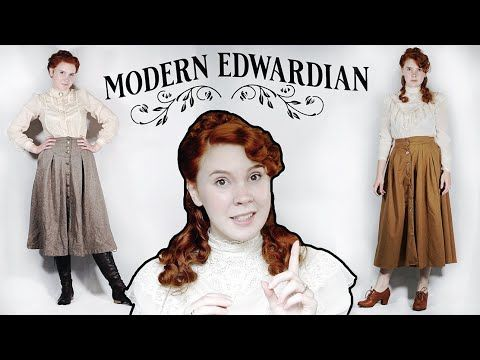 Modern Edwardian Tips On How To Blend The Era Into Your Style Youtube Victorian Inspired Fashion Vintage Inspired Fashion Victorian Edwardian Fashion Modern