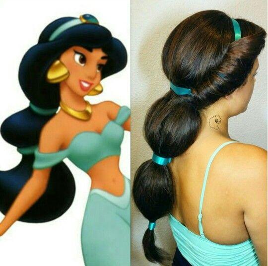 Jasmine Aladdin Jasmine Hair Princess Jasmine Hair Princess Jasmine Costume