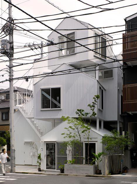 tokyo apartment - sou fujimoto architects: Apartment Architecture, Apartments Sou, Fujimoto Architects, Apartments Designed, House Apartment, Sou Fujimoto