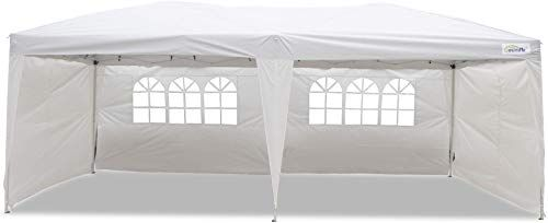 Great For Goutime 10x20 Ft Ez Pop Up Canopy Tent With 4pcs 10ft Removable Sidewalls And Wheeled Bag For Outdoor Party Events Furniture 195 Ideasyoulove From