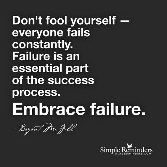 Failure is constant