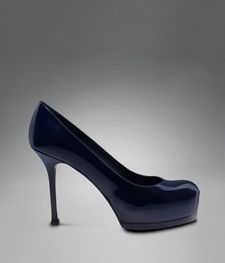 Perfection - platformed and still not too high. You go YSL.