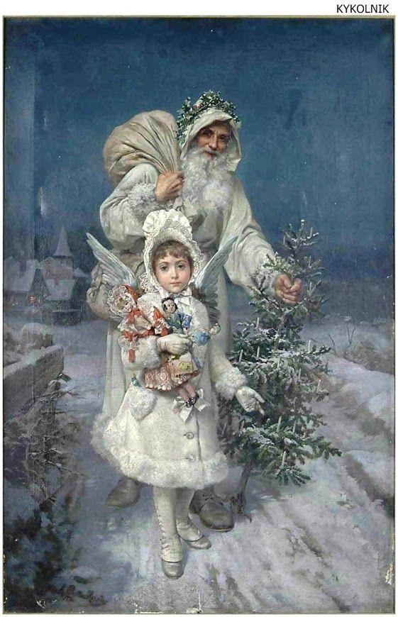 Mencia, Antonio Garcia Y (Spain, 1853 - 1915) - «Memories of Christmas» !