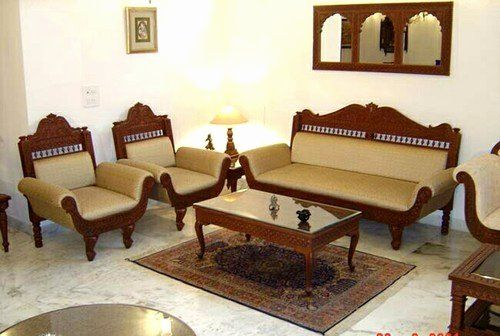 Kenya Living Room Sofa Sets Luxury Sofa Set 5 Seater Carved Wooden Sofa Set Manufacturer From New Delhi Di 2020