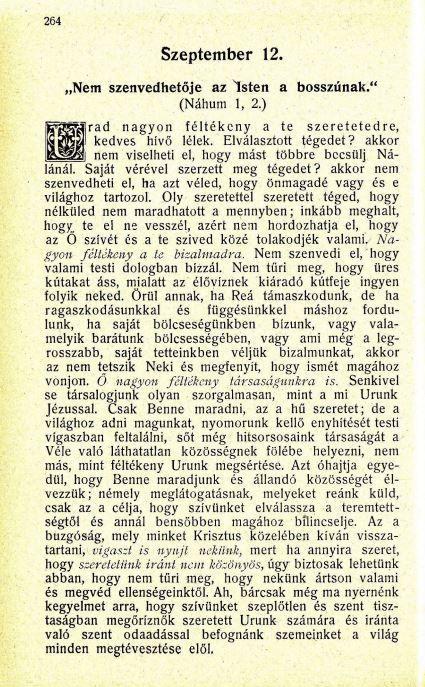 09.12. Spurgeon: Harmatgyöngyök...