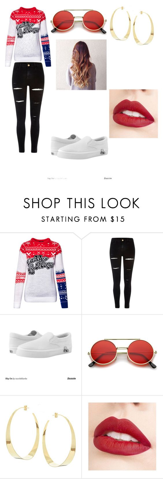 """""""😍"""" by mahomie-cd ❤ liked on Polyvore featuring River Island, Zipz, ZeroUV, Lana and Jouer"""