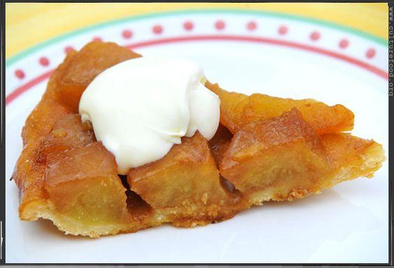 Rezept Tarte Tatin Apfelkuchen | Culture Food Blog - ein kulinarisches Tagebuch für Gourmets