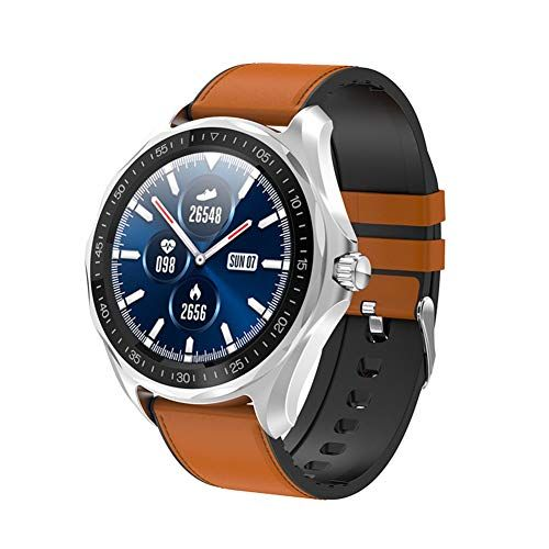 Intelligente Uhren 1 3 Zoll Full Round Hd Farb Touchscreen Fitness Tracker 5atm Wasserdichte Fitness Uhr Schlaf Herzfreq In 2020 Fitness Uhr Fitness Tracker Smartwatch