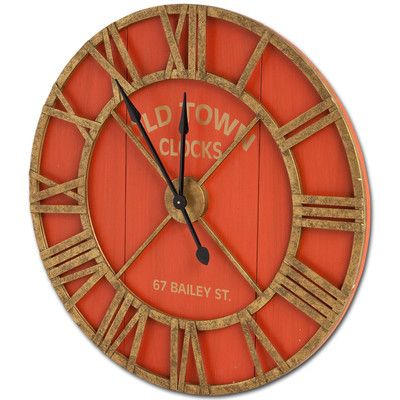 "Mercana Bolival II 36"" Wall Clock"