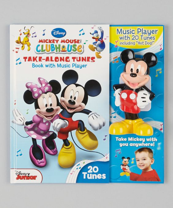 Look what I found on #zulily! Mickey Mouse Clubhouse Take-Along Tunes Hardcover by Mickey Mouse Clubhouse #zulilyfinds