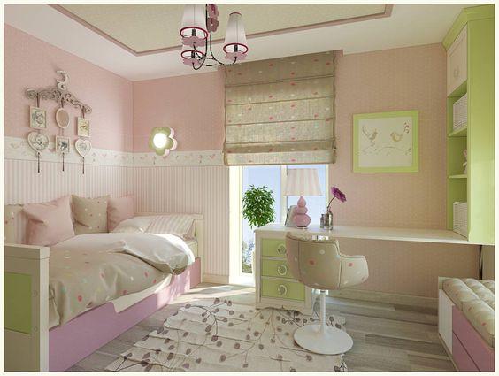 Die schönsten Ideen für ein Mädchen-Zimmer Kids rooms, Room and - schöne farben für schlafzimmer