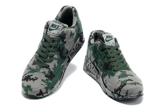 reputable site 92889 567e8 ... nike air max 90 vt unisex colorful green gray sneakers p 2687 ...
