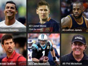 Cristiano Ronaldo es el deportista mejor pagado del mundo según Forbes