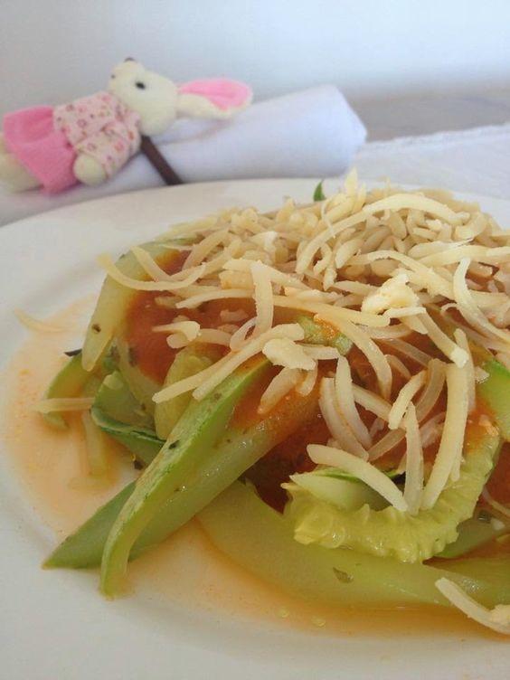 It Glamour: Espaguete de Abobrinha
