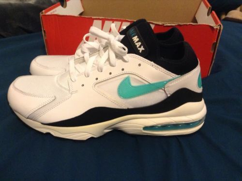 Nike Air Max 93 retro White Dusty Cactus Black men's running shoe size 11 https://t.co/EexkOtocco https://t.co/supOoqu8uP
