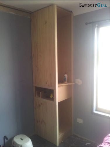 Kristy's Bedroom – 2 | http://thesawdustdiaries.com/kristys-bedroom-2/