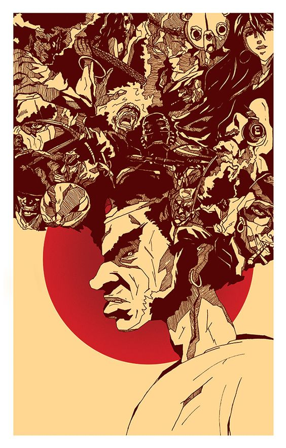 AFRO SAMURAI on Behance