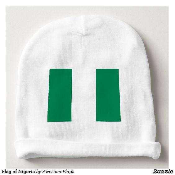 Flag of Nigeria Baby Beanie