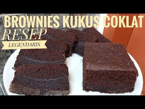 Resep Brownies Kukus Coklat Empuk Lembut Youtube Brownies Resep Coklat